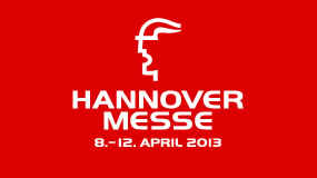 Hannover Messe 8 - 12 April Halle 12 - F69