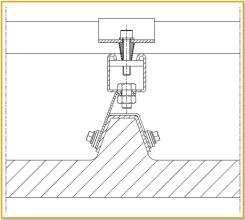 befestigung von photovoltaik anlagen f r trapezbleche teknomega srl. Black Bedroom Furniture Sets. Home Design Ideas